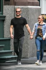 HAYDEN PANETIERE and Zach Hickerson Holding Hands Out in New York 09/04/2019