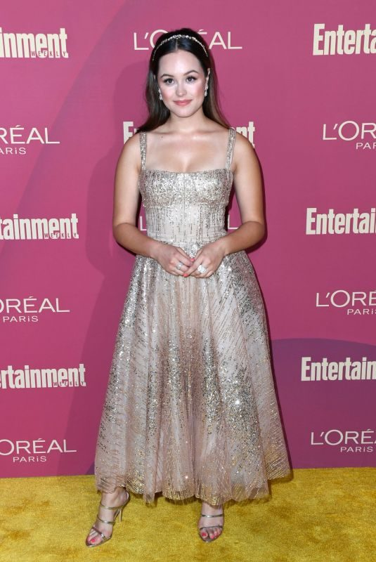 HAYLEY ORRANTIA at 2019 Entertainment Weekly and L'Oreal Pre-emmy Party in Los Angeles 09/20/2019
