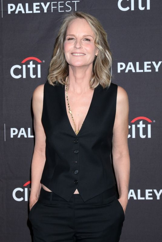 HELEN HUNT at Paleyfest Fall TV Preview – Mad About You in Beverly Hills 09/07/2019