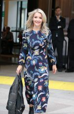 HELEN SKELTON Leaves ITV Studios in London 09/05/2019