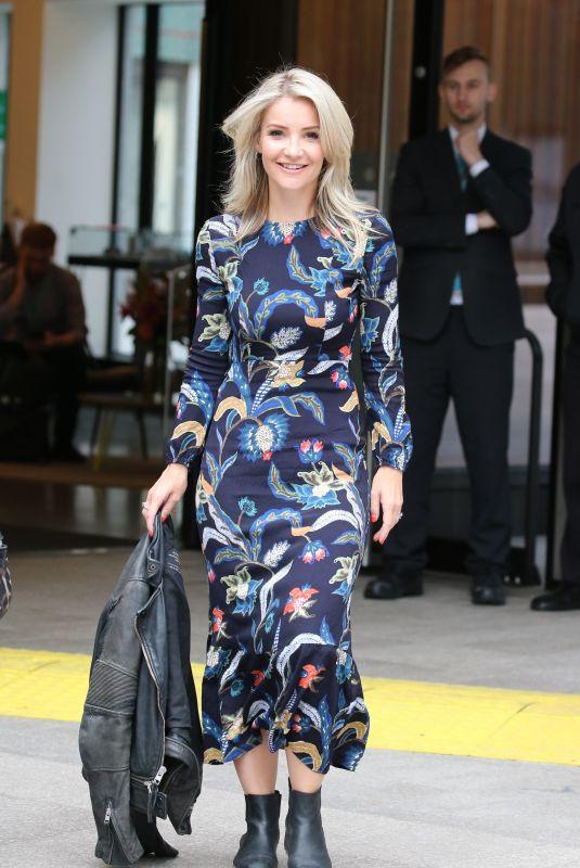 HELEN SKELTON Leaves ITV Studios in London 09/05/2019