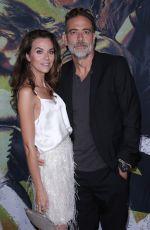 HILARIE BURTON and Jeffrey Dean Morgan at The Walking Dead, Season 10 Special Screening in Hollywood 09/23/2019
