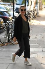 HOLLIDAY GRAINGER Leaves BBC Radio 2 Studios in London 8/29/2019