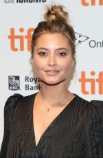 HOLLY VALANCE at The Obituary of Tunde Johnson Photocall at 2019 TIFF in Toronto 09/08/2019