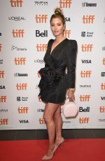 HOLLY VALANCE at The Obituary of Tunde Johnson Premiere at 2019 Toronto International Film Festival 09/08/2019