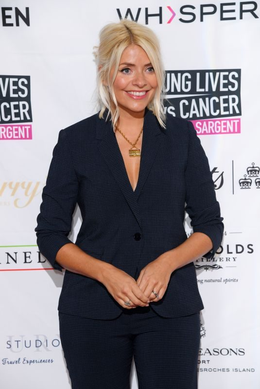 HOLLY WILLOGHBY at A Very British Affair Auction at Claridge's Hotel in London 09/13/2019