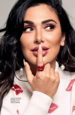 HUDA KATTAN in Cosmopolitan Magazine, Italy October 2019