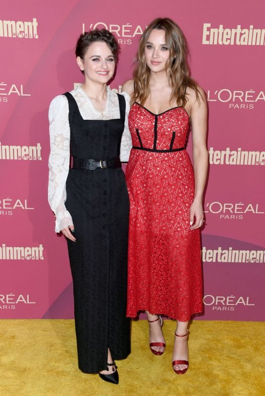 HUNTER HALEY and JOEY KING at 2019 Entertainment Weekly Pre-emmy Party in Los Angeles 09/20/2019