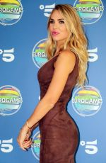 ILARY BLASI at Eurogames Canale 5 TV Show Photocall in Milan 09/16/2019