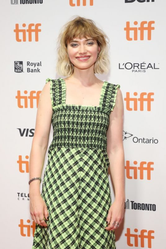 IMOGEN POOTS at Castle in the Ground Premiere at 2019 Toronto International Film Festival 09/05/2019