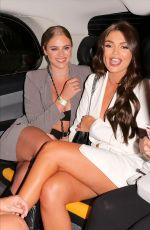 INDIA REYNOLDS at India x Boohoo Private Dinner at Bagatelle in London 09/19/2019