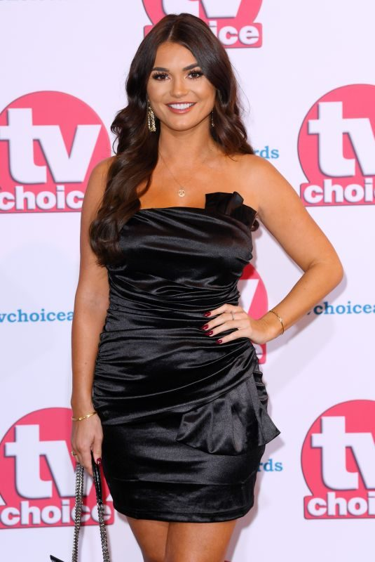 INDIA REYNOLDS at TV Choice Awards 2019 in London 09/09/2019