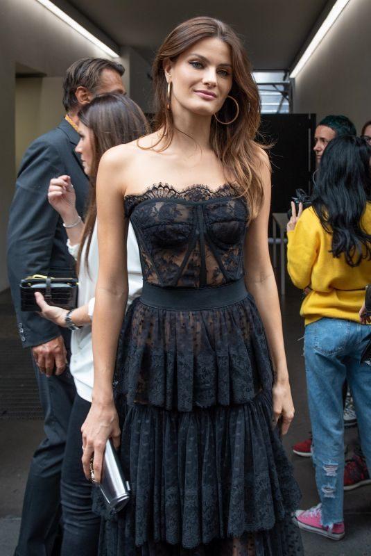 ISABELI FONTANA at Dolce & Gabbana Show at Milan Fashion Week 09/22/2019