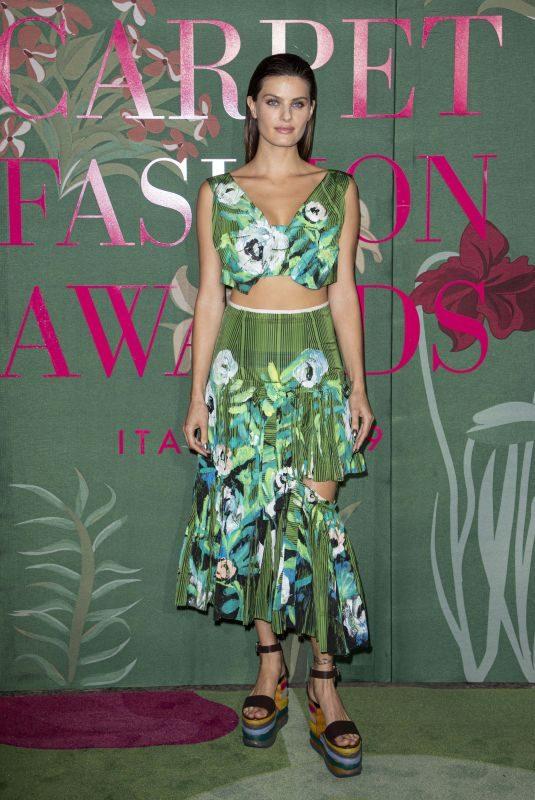ISABELI FONTANA at Green Carpet Fashion Awards in Milan 09/22/2019