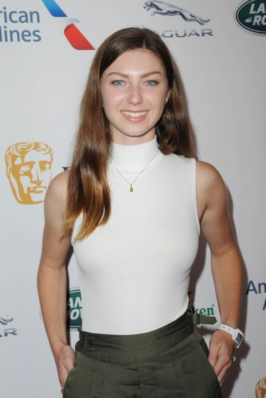ISABELLA BLAKE THOMAS at Bafta LA + BBC America TV Tea Party 09/21/2019