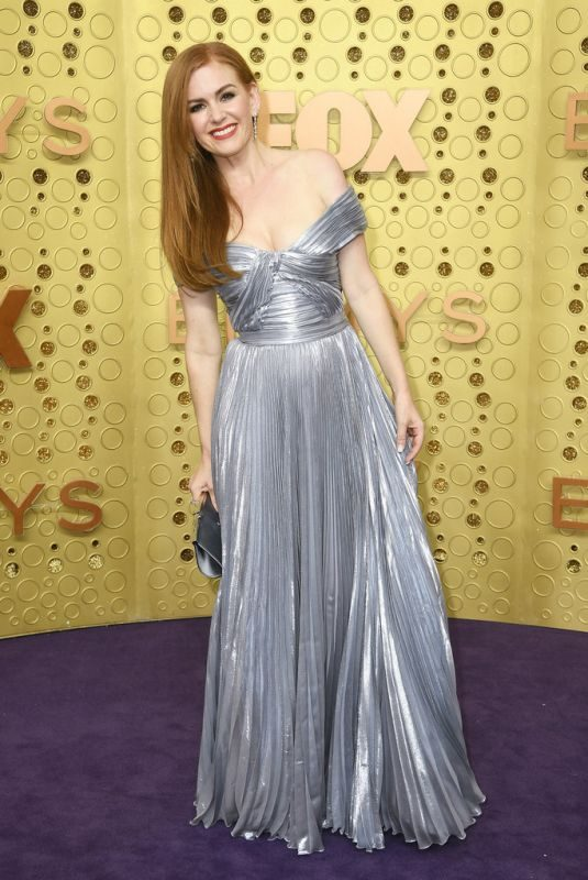ISLA FISHER at 71st Annual Emmy Awards in Los Angeles 09/22/2019