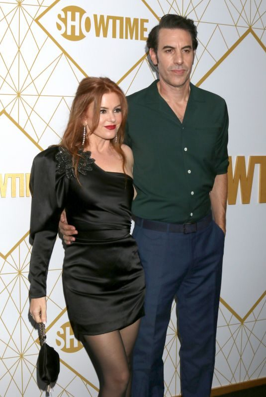 ISLA FISHER at Showtime Emmy Eve Party in West Hollywood 09/21/2019