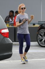 ISLA FISHER Out for Coffee in Los Angeles 09/10/2019