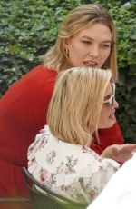 IVANKA TRUM and KARLIE KLOSS at a Lunch in Rome 09/22/2019