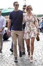 IVANKA TRUMP and Her Husband Jared Kushner Out in Rome 09/21/2019