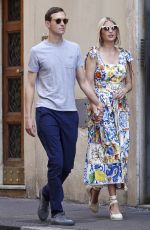 IVANKA TRUMP and Jared Kushner Out in Rome 09/20/2019
