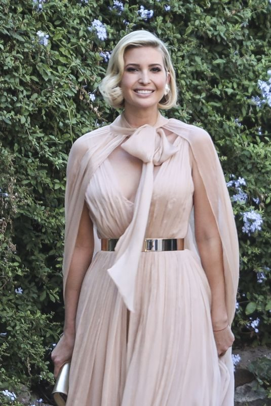 IVANKA TRUMP at Misha Nonoo's Wedding in Rome 09/20/2019
