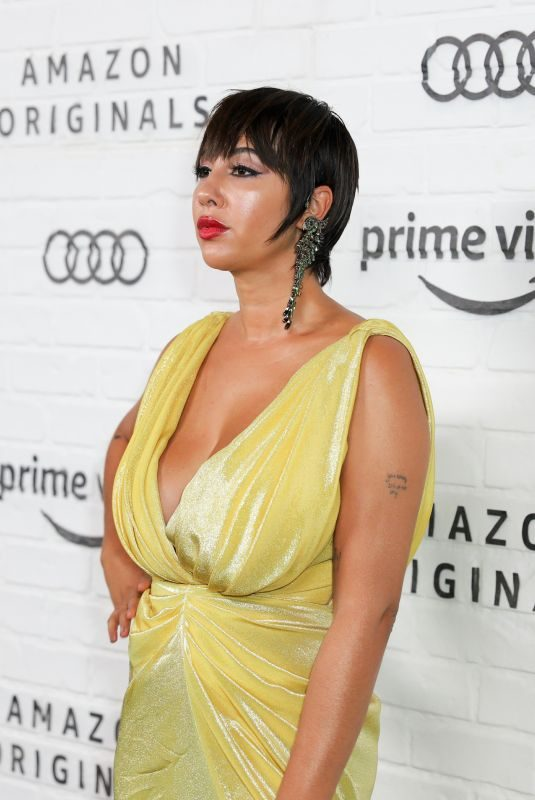 JACKIE CRUZ at 71st Annual Emmy Awards in Los Angeles 09/22/2019