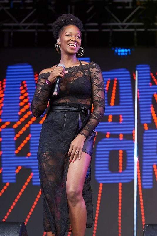 JAMELIA Performs at Mighty Hoopla Festival in London 09/06/2019