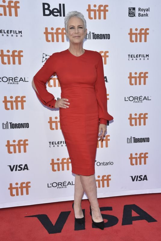 JAMIE LEE CURTIS at Knives Out Premiere at 2019 TIFF in Toronto 09/07/2019