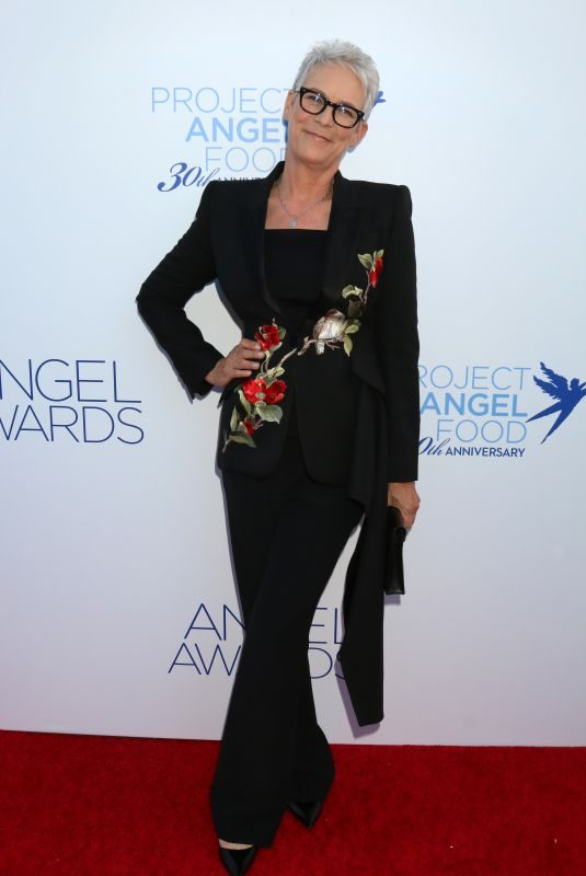 JAMIE LEE CURTIS at Project Angel Food Angel Awards Gala in Los Angeles 09/14/2019