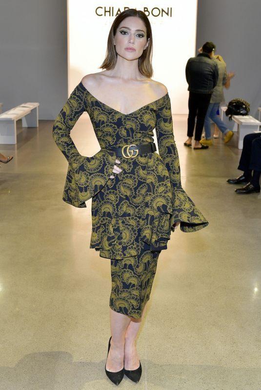 JANET MONTGOMERY at Chiara Boni Fashion Show at NYFW in New York 09/07/2019