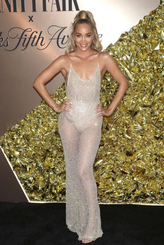 JASMINE SANDERS at Vanity Fair's 2019 Best Dressed List in New York 09/05/2019