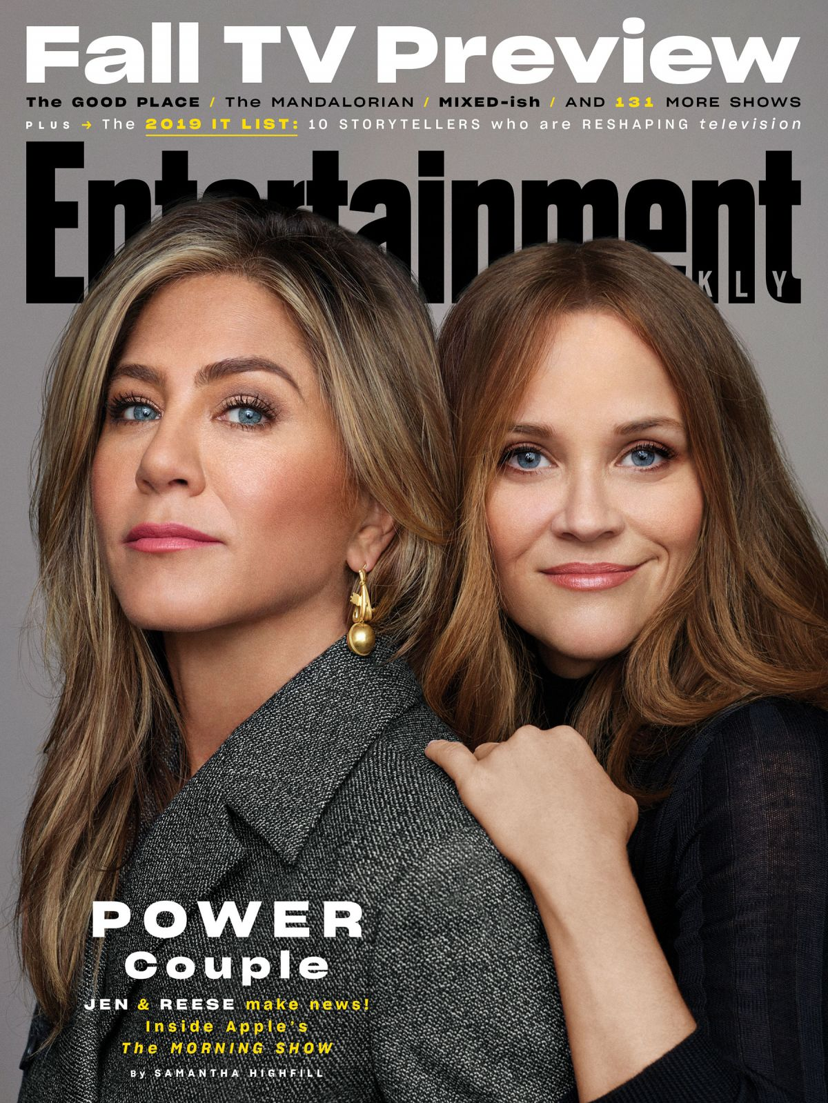 Jennifer Aniston And Reese Witherspoon On The Cover Of