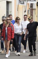 JENNIFER FLANVIN, SOPHIA and Sylvester Stallone in Rome 09/02/2019