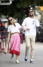 JENNIFER LAWRENCE and Cooke Maroney Out in New York 09/09/2019