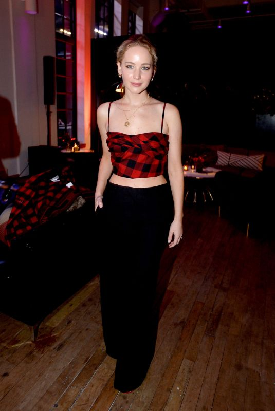 JENNIFER LAWRENCE at youtube.com/fashion Launch in New York 09/09/2019