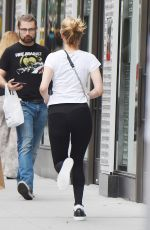 JENNIFER LAWRENCE Out Running in New York 09/18/2019