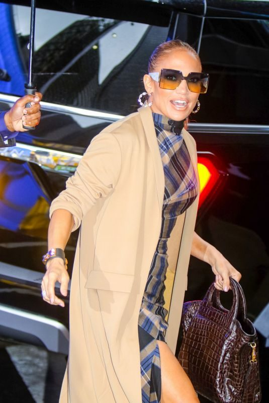 JENNIFER LOPEZ Arrives at Good Morning America in New York 09/10/2019