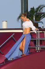 JENNIFER LOPEZ Arrives at Nikki Beach in St. Tropez 09/02/2019