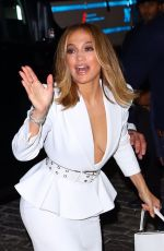 JENNIFER LOPEZ Arrives at Ultra Beauty for a Perfume Launch Party in New York 09/26/2019