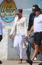 JENNIFER LOPEZ Arrives in St. Tropez 09/02/2019