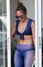 JENNIFER LOPEZ at a Private Yoga Class in Miami Beach 09/18/2019