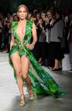 JENNIFER LOPEZ at Versace Runway Show at Milan Fashion Week 09/20/2019