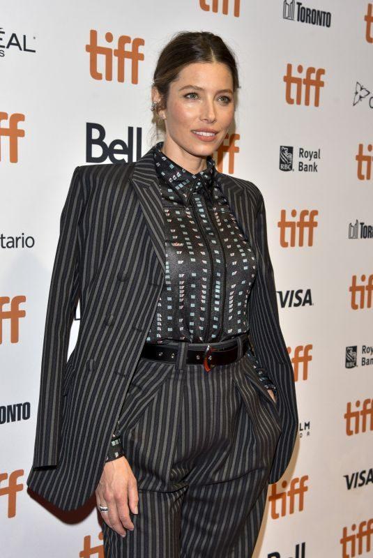 JESSICA BIEL at Limetown Premiere at 2019 Toronto International Film Festival 09/06/2019