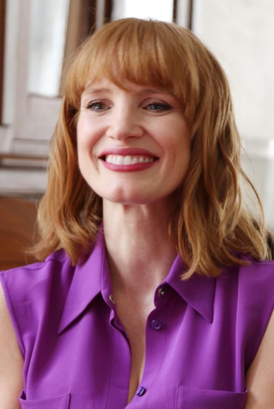 JESSICA CHASTAIN at It: Chapter Two Press Conference in Pasadena 08/25/2019