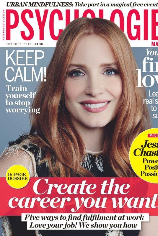 JESSICA CHASTAIN in Psychologies Magazine, UK October 2019