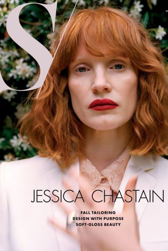 JESSICA CHASTAIN in S Magazine, Fall 2019