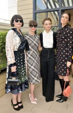 JOEY KING at Glamour x Tory Burch Women to Watch Lunch in Beverly Hills 09/20/2019
