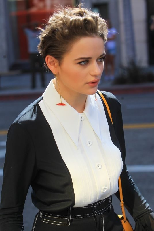 JOEY KING Leaves Tory Burch's Emmy Party in Beverly Hills 09/20/2019