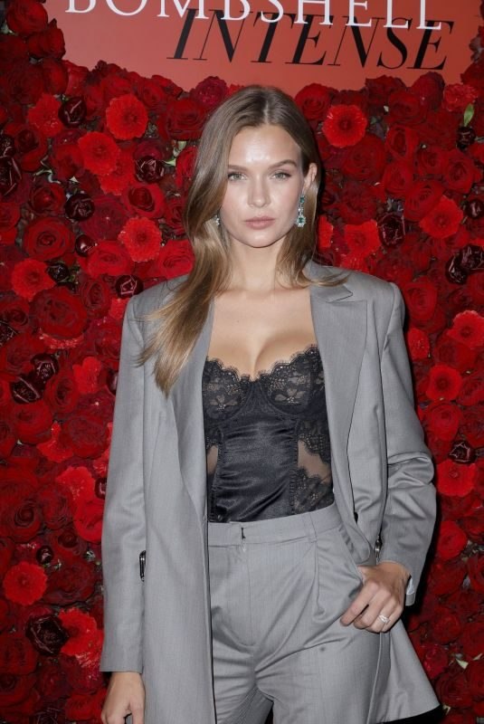 JOSEPHINE SKRIVER at Victoria's Secret Bombshell Intense Launch Party in New York 09/05/2019
